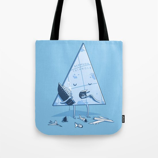 Bermuda triangle Tote Bag