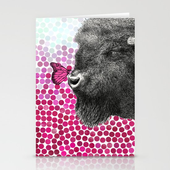 New Friends 4 by Eric Fan & Garima Dhawan Stationery Card