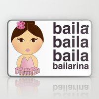 Baila Bailarina Laptop & iPad Skin