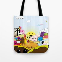 SF Sweet World  Tote Bag