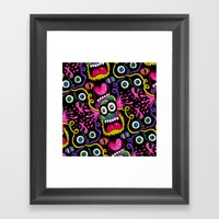There's Something On You… Framed Art Print