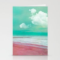 SILENT BEACH Stationery Cards