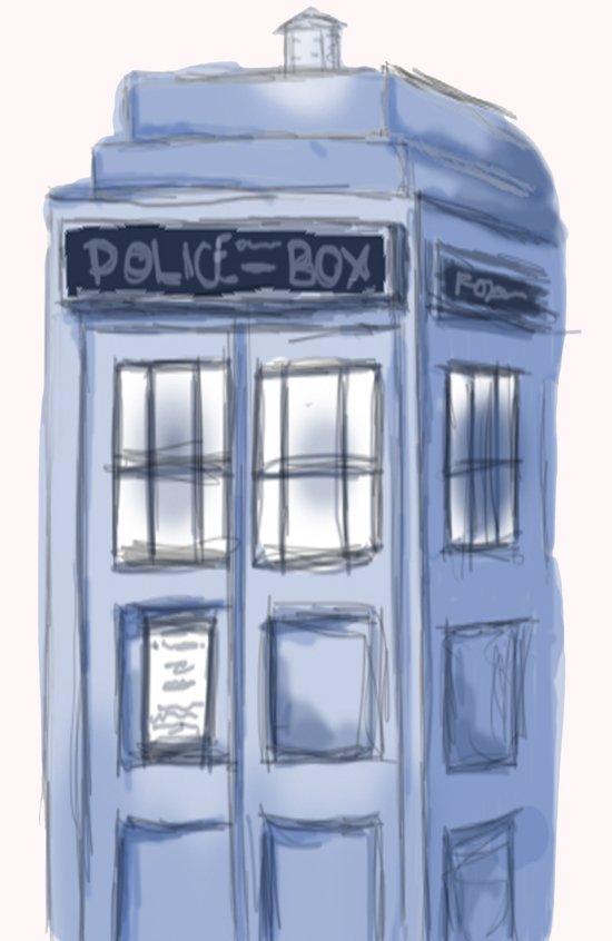 TARDIS Art Print
