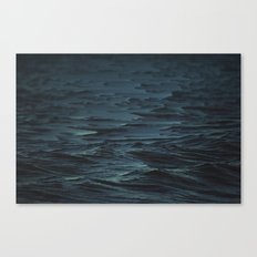 Digital Sea Canvas Print