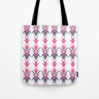 Pink Dart Tote Bag