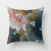 Terra Shades Throw Pillow