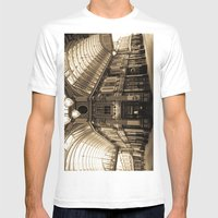 Leadenhall Market London Mens Fitted Tee White SMALL