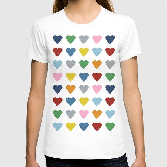 64 Hearts T-shirt