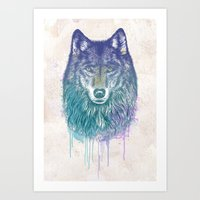 I Dream Of Wolf Art Print