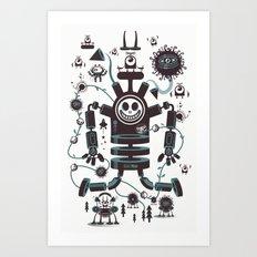 The Magic Garland Art Print