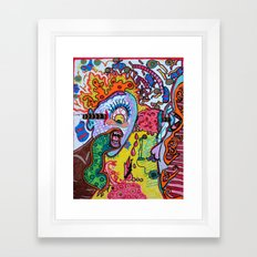 singing cyclops Framed Art Print