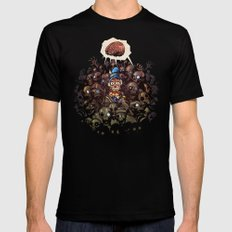 More BRAINS for OZ Mens Fitted Tee Black SMALL