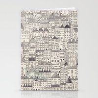 city Stationery Cards featuring city by rubyetc