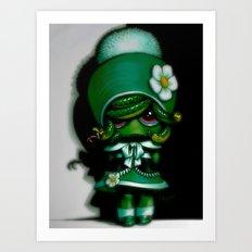 Lil' Medusa Art Print