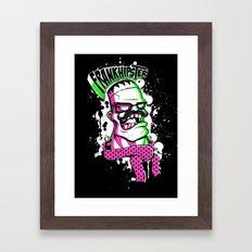 Frankhipster Framed Art Print