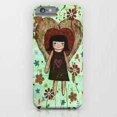 Broken girl iPhone 6s Slim Case