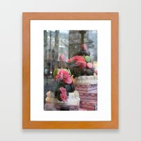 Window Shopping Framed Art Print