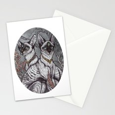Gift of Sight art print Stationery Cards