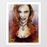 Oh My Jessica - True Blo… Art Print