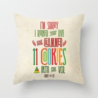 Buddy The Elf! I'm Sorry… Throw Pillow