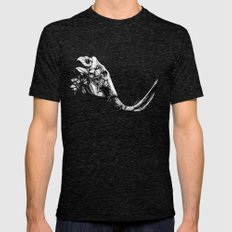Prehistoric Bloom - The Mastodonte Mens Fitted Tee Tri-Black SMALL