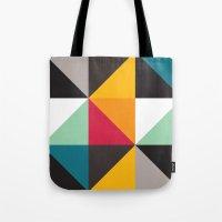 Triangles # 2 Tote Bag