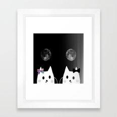 cat-849 Framed Art Print