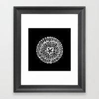 More Flower Framed Art Print