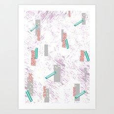 GRAPHIC. print, pattern, design, graphics, colour, illustration, art, design, Art Print