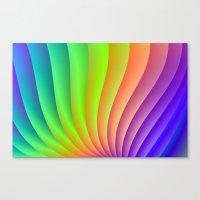 Color Wave Canvas Print