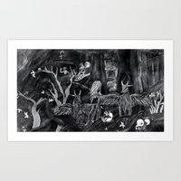 Never Alone Art Print