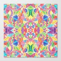 Kaleidoscopic Zen Canvas Print