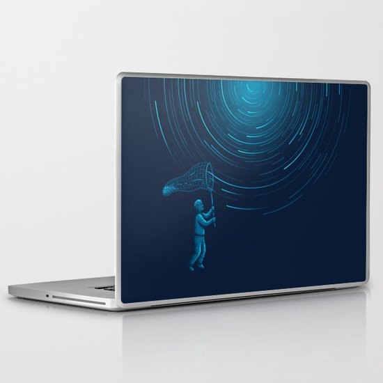 Catch a Star trail Laptop & iPad Skin