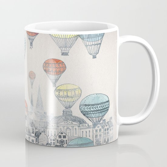 Voyages over Edinburgh Mug