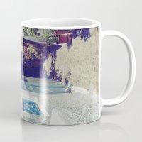 Santorini Walkway VI Mug