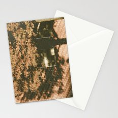 autumn tree, shadow Stationery Cards