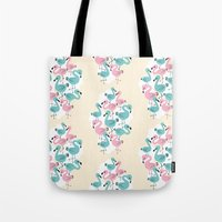 Flamingo Go Go Tote Bag
