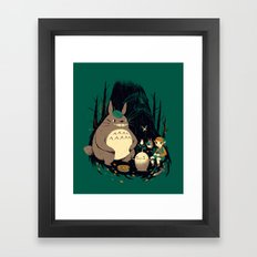 Spirits Of The Forest Framed Art Print