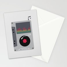 Music Mix Stationery Cards