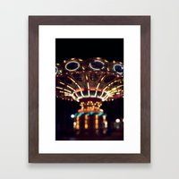 The Rides, The Swings Framed Art Print