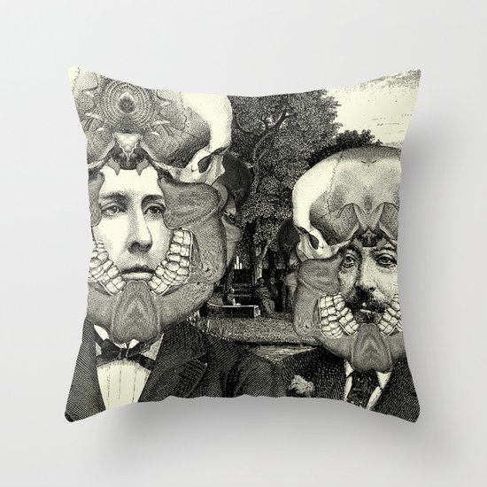 Lithography 3 Throw Pillow