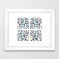 Abstrusion 1 Framed Art Print