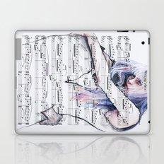 Waiting Place on sheet music Laptop & iPad Skin