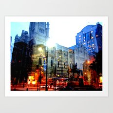 linear city Art Print