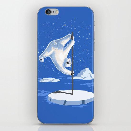 North Pole Dancer iPhone & iPod Skin