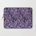Purple Reflections Laptop Sleeve