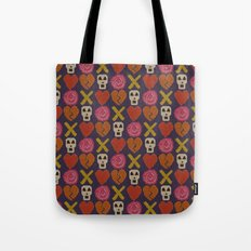 cross stitch cross love Tote Bag