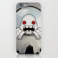 iPhone & iPod Case featuring Scream (Looking in) by Adam Dunt