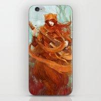 wandering minstrel iPhone & iPod Skin