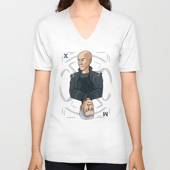 King of the Mutants (X) V-neck T-shirt
